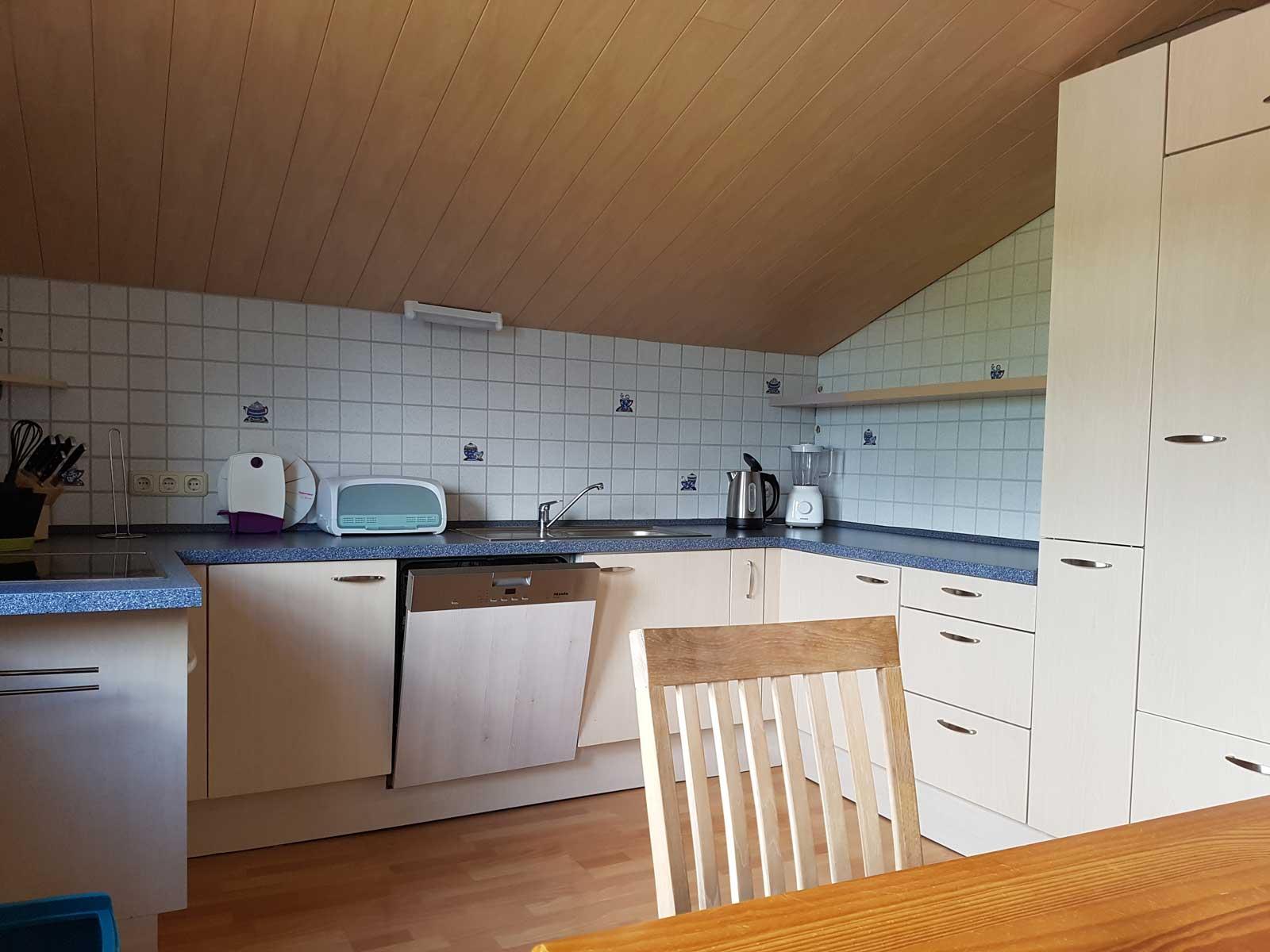 Küche in der Ferienwohnung Osterstedt